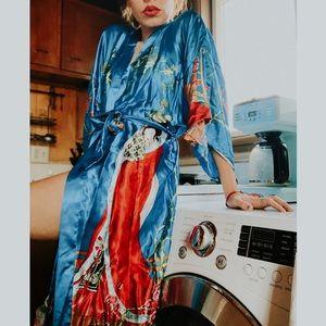 Stunning Chinese Printed Robe